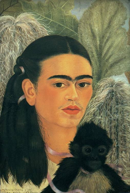 Fulang Chang and I, Frida Kahlo
