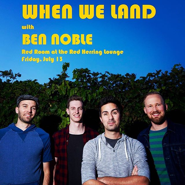 Hello Twin Ports! We're excited to come your way July 13th with @bennoblemusic !!! More details coming soon. #duluthmusic #superiorwi #redherring #duluth