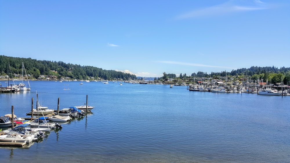 Our old view of Gig Harbor