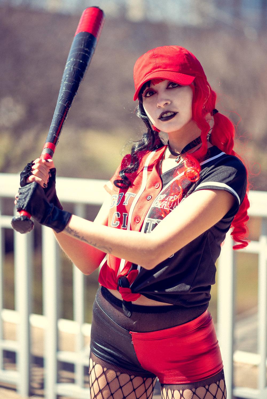 Harley Quinn Baseball