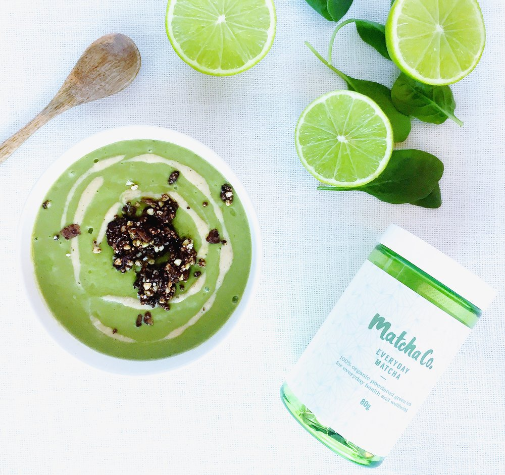 Matcha Lime Smoothie Bowl
