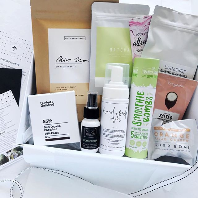 "A box all you need to feel-good for a pep in your step! The perfect ""get well"" gift or for any occasion!"