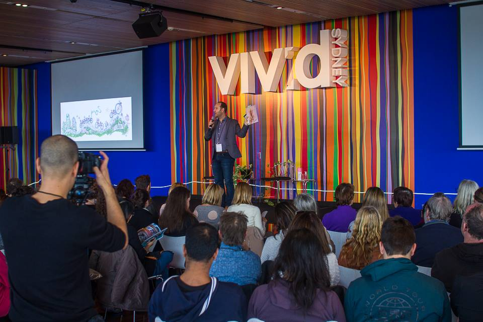 EVENT MANAGEMENT: VIVID Ideas, Museum of Contemporary Art, Sydney June 2016