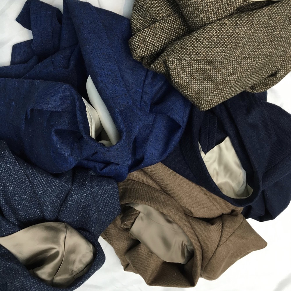 Handmade Soft Jackets. From HK$11,000.