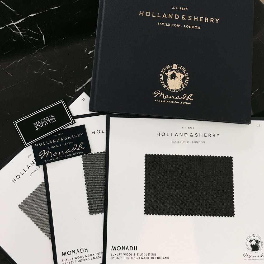 Magnus & Novus x Holland & Sherry - Finest Bespoke Suits Hong Kong