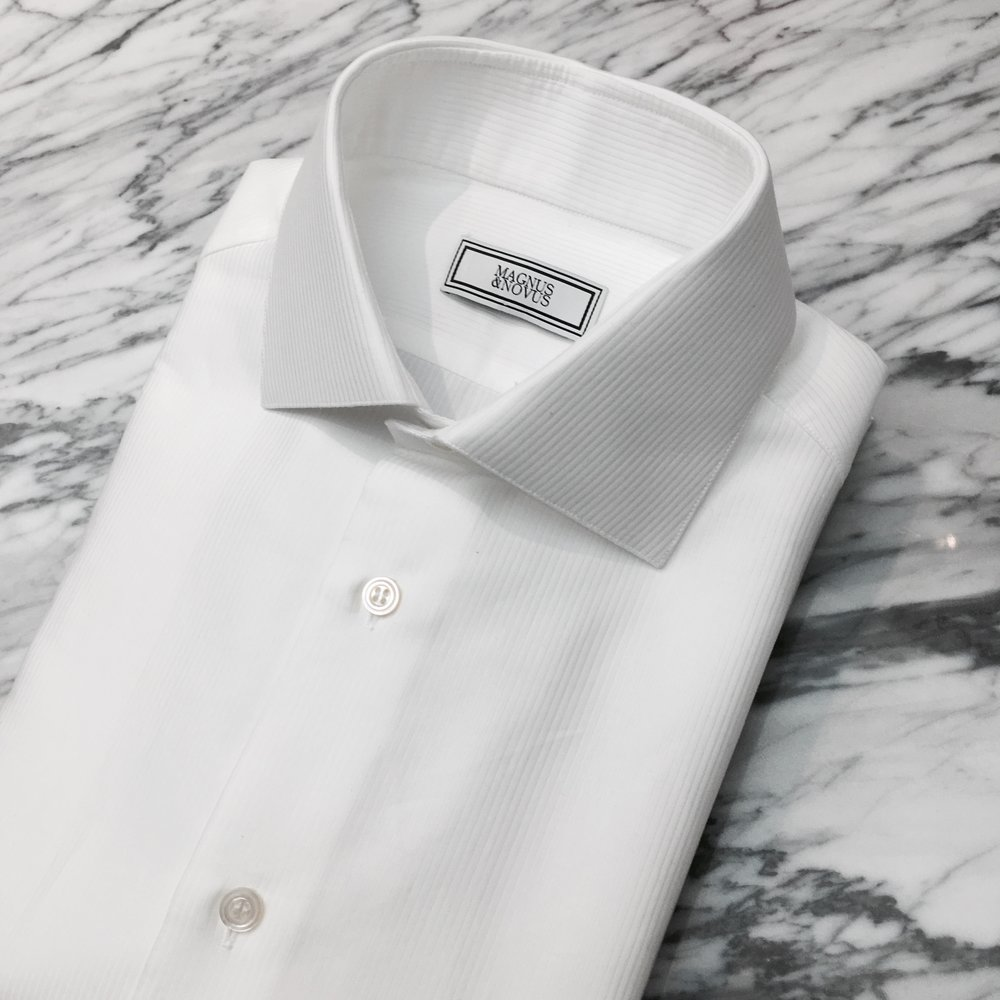 Bespoke Dress Shirts in Swiss Cotton. From HK$2,500    (Only Available in Bespoke & MTM)