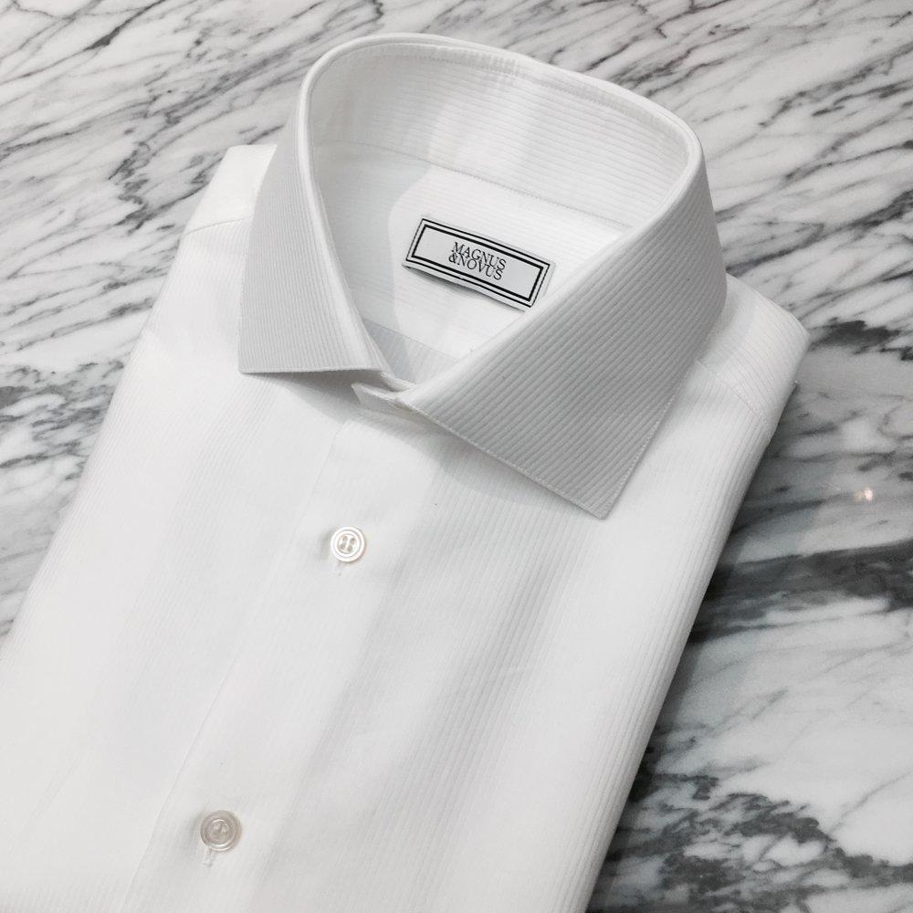Bespoke Dress Shirts in Swiss Cotton. From HK$2,500