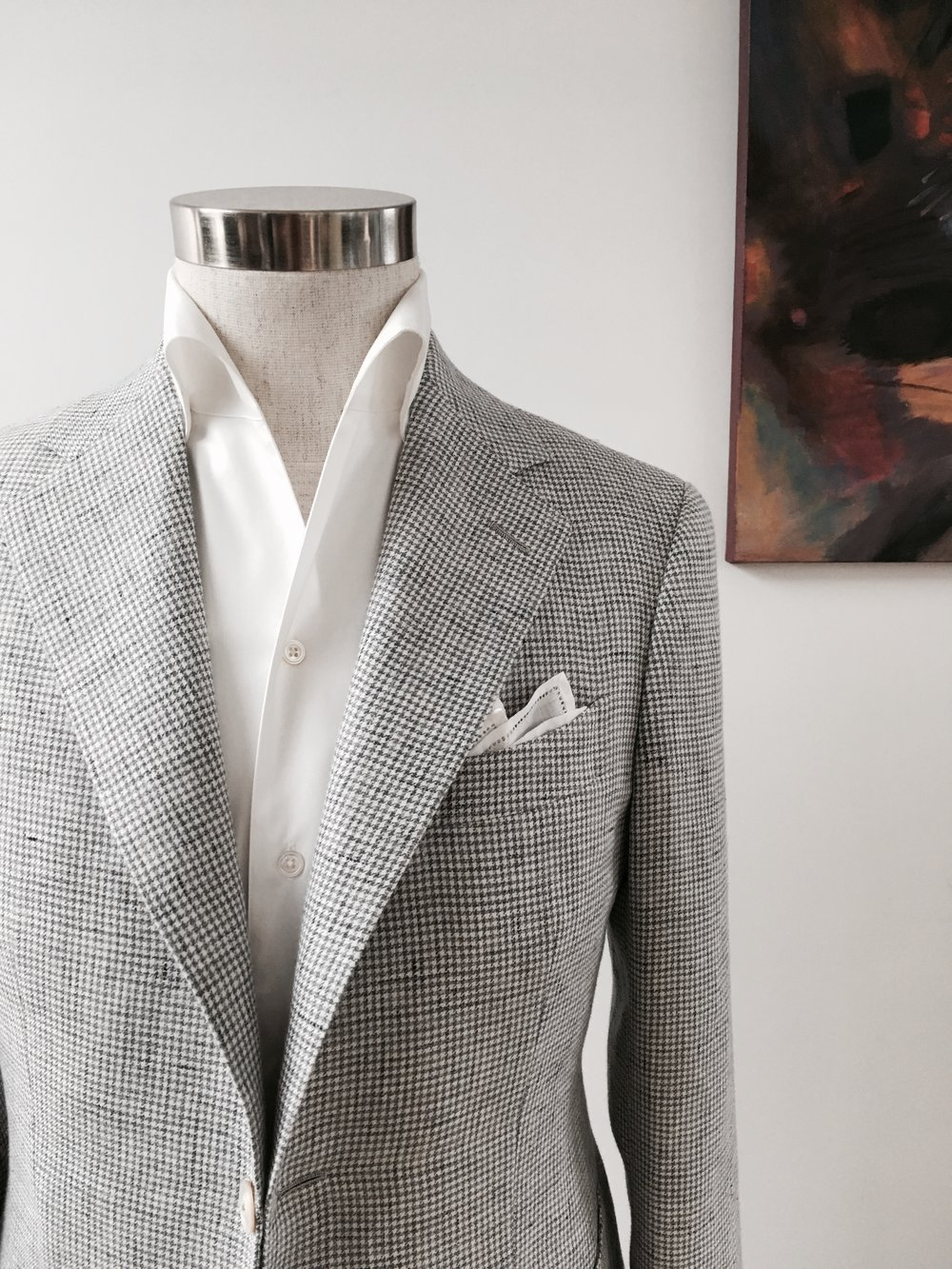 Magnus & Novus - Bespoke Tailored Summer Leisure Jacket & Suits Hong Kong