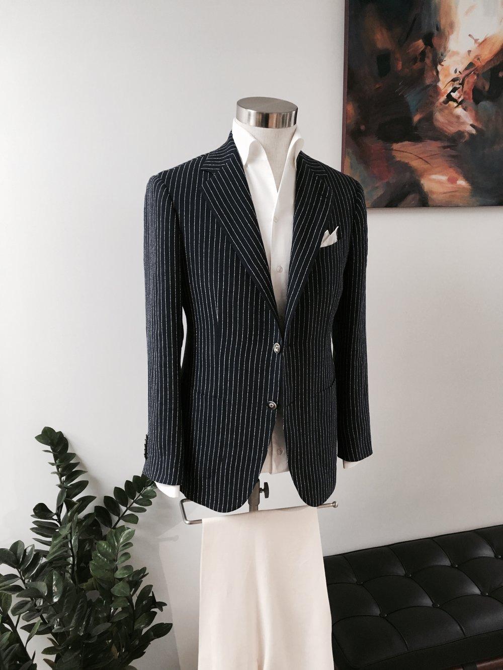 Magnus & Novus - Bespoke Summer Jacket in Hong Kong