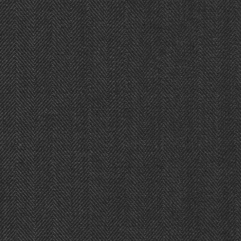 Deep Grey Herringbone