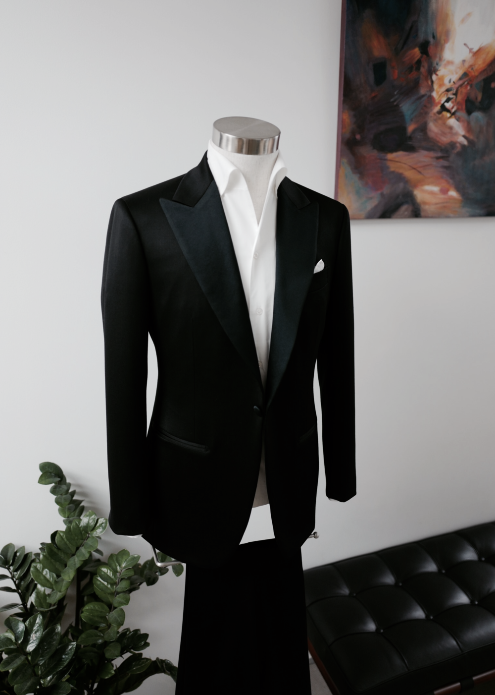 Timelesss Evening Wear    (Available in Bespoke & Made to Measure)