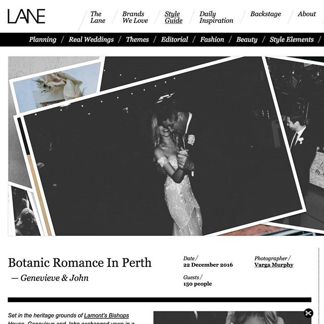 For a sneaky look at the most beautiful wedding ever check out @the_lane real weddings for @genevieve.mccarthy & John's dream day 💐 Featuring #bonbonnieres by me! . http://thelane.com/style-guide/real-weddings/botanic-romance-in-perth . #romanceinperth #thelane #dreamwedding #flowersfordays #custom #favours #bonbonniere #wedding #beauty #scented