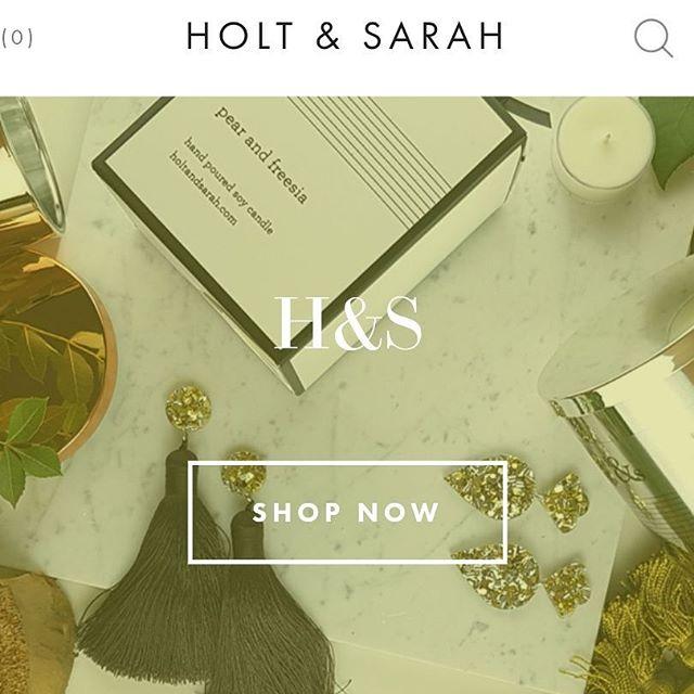 Back Online 💃💃💃 Link in bio #holtandsarah #shopping #newsite #afewchanges #freshlook #scents #knits #jewels #makers #itsamakeover #hurrah