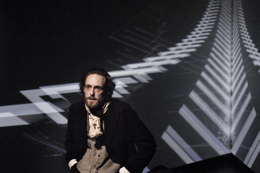 """"""" Die Kreutzersonate"""" nach Tolstoi  Regie & Textfassung Sarah Bellin  Zürich 2015"""