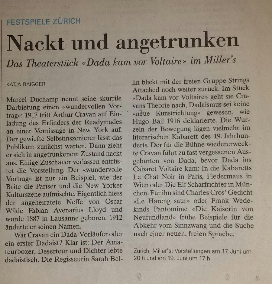 Neue Zürcher Zeitung, 17.06.2016