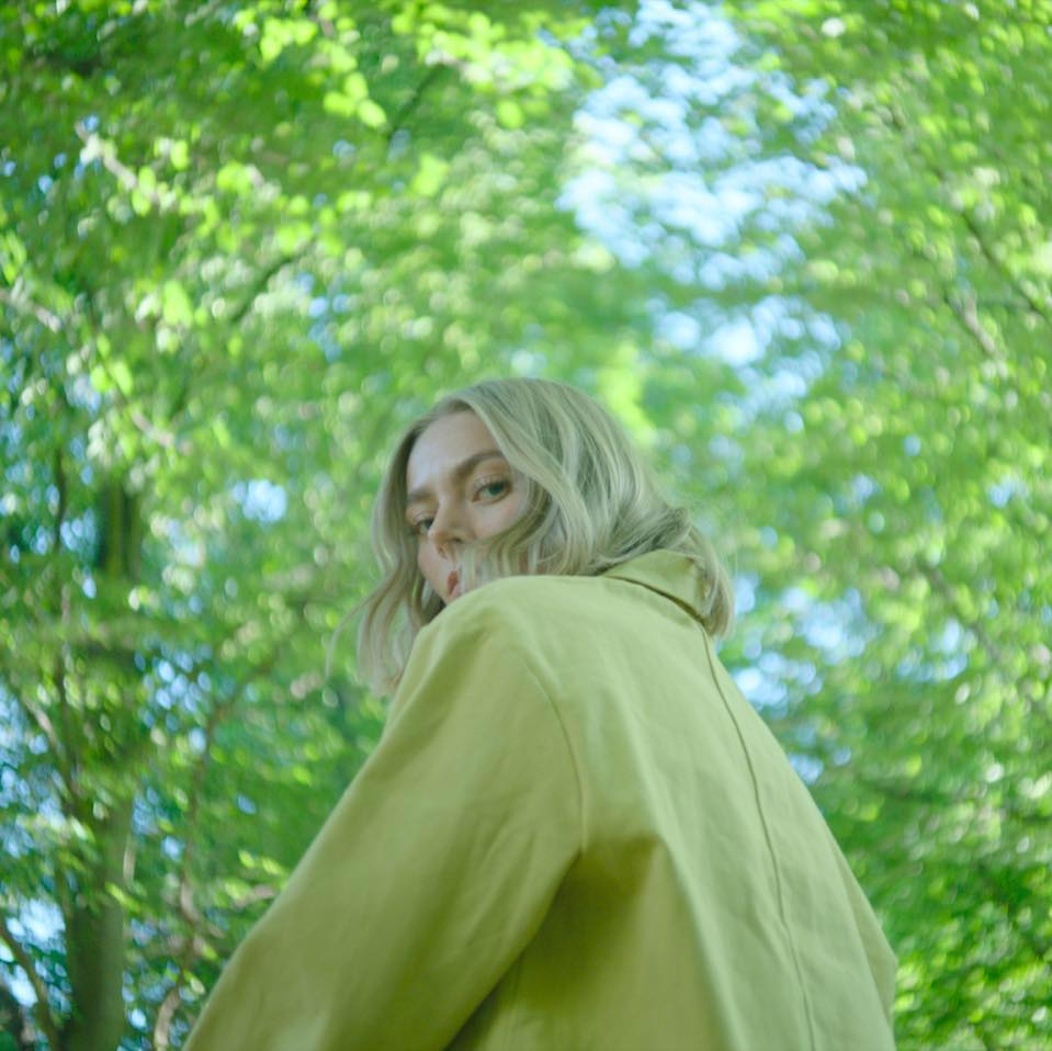 Johanne, co-founder of Aure Studio. The picture is a still from Bjarke Underbjerg's film for FRAMA.
