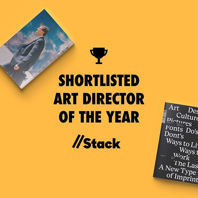Very excited to be shortlisted for the third year in a row by @stackmagazines — this time as Art Director of the Year, judged by the eminent @debbiemillman and @willhudson 🧡THANK YOU! // The AD of Volume 13 is a result of a really good teamwork and collab between Creative Director/Chief Editor/AD @veroniqmike, AD @asvisdal and designers @jana_papiernikova and @antiendre at @anti_inc and @antibergen 🤝 Head over to Stack to see all the shortlists — so much sexyness!