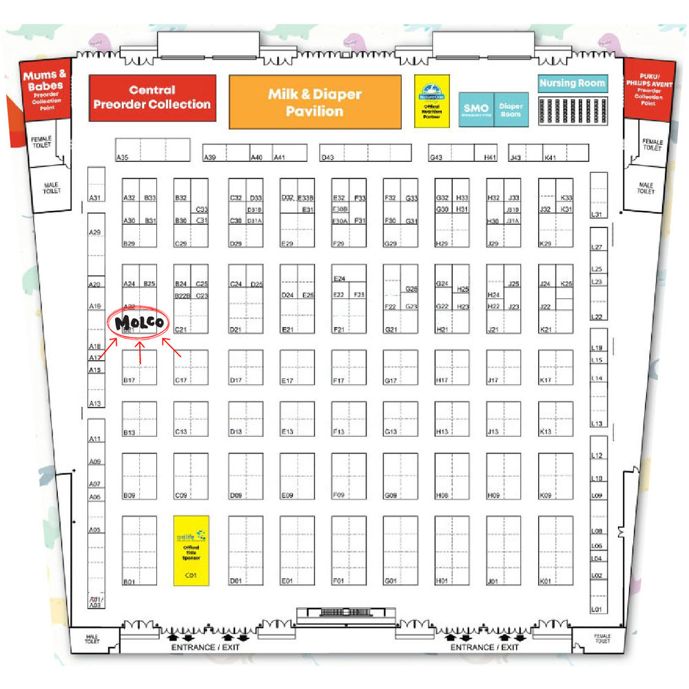 The MOLCO team will be located at B21. Come and say hi!