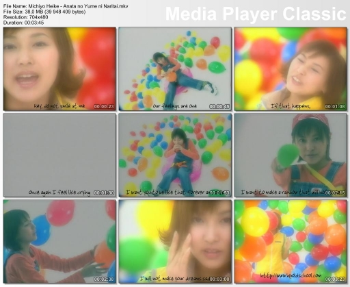 Music video for Anata no Yume ni Naritai