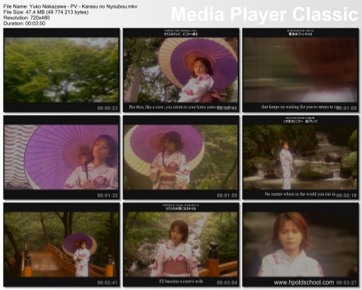 Music video for Karasu no Nyoubou