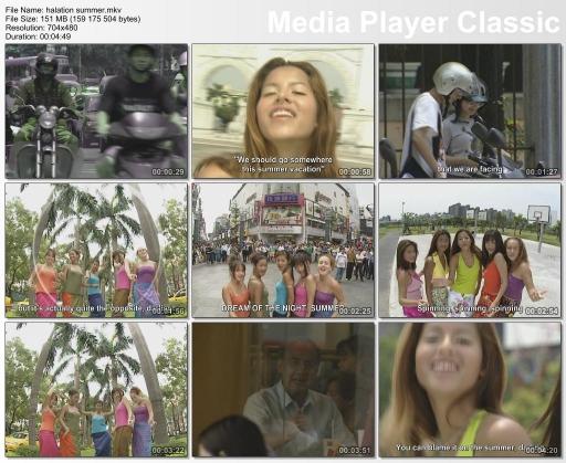 Music video for Halation Summer