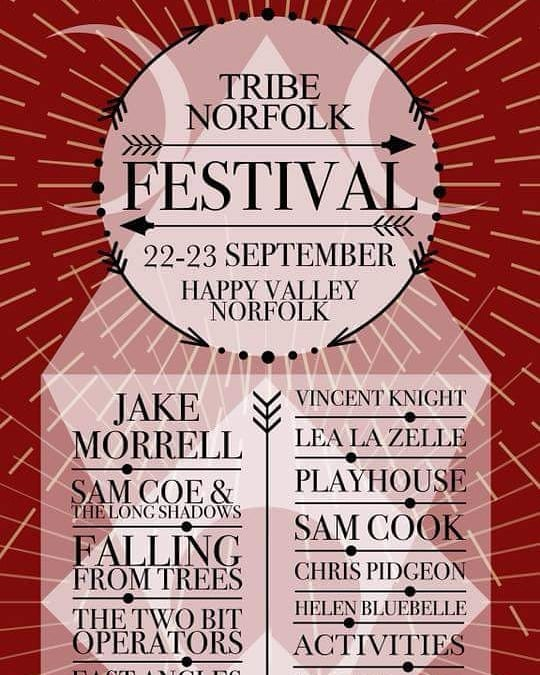 We only have a handful of gigs left this year and THIS is one of them! Catch us at the inaugural @tribenorfolk festival at @happyvnorfolk next week alongside this mighty fine selection of homegrown Norfolkian musical awesomeness :) . . . . #gig #show #norfolk #norfolkfestival #norfolkcounty #festival #festivalseason #band #rockandroll