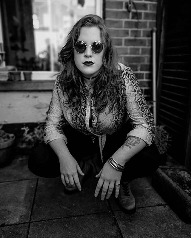 Girl got game. See you soon Deepdale Festival. . . . . #singer #singersofinstagram #girl #leadinglady #band #rockandroll #blackandwhite #monochrome #portrait #festival #lastfestivaloftheyear #autumn #september #sunglasses #sunnies