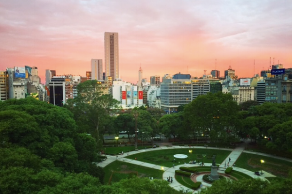 Buenos Aire sunset