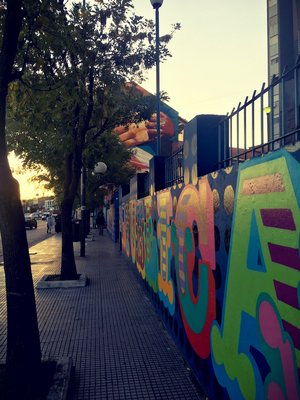 La Boca graffitti art