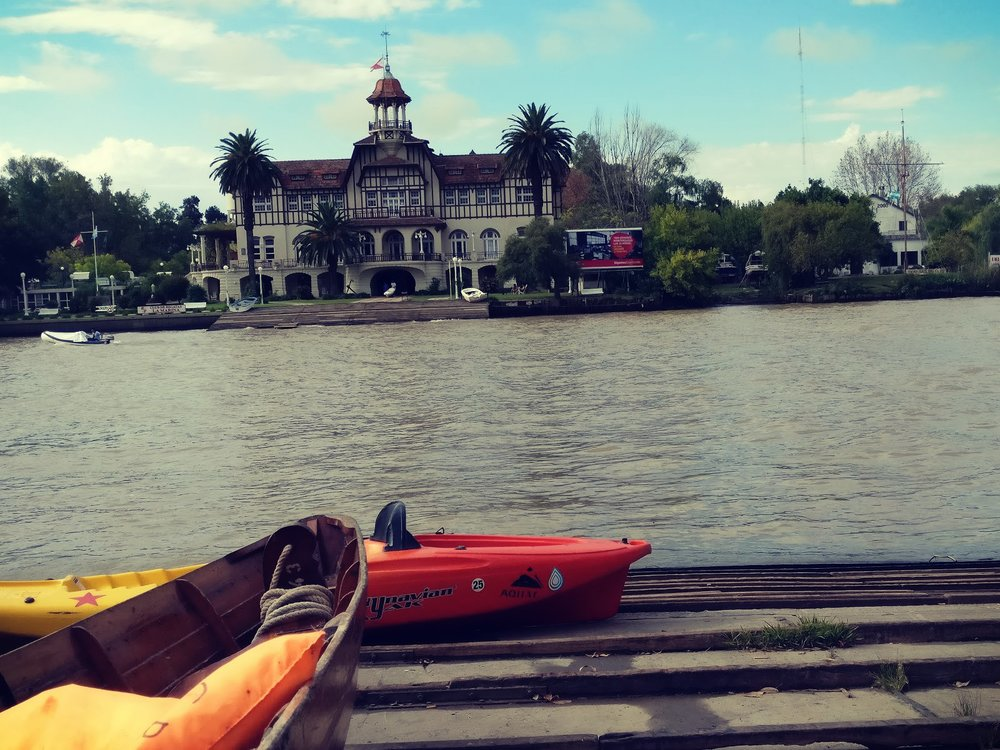 Kayaking in El Tigre River