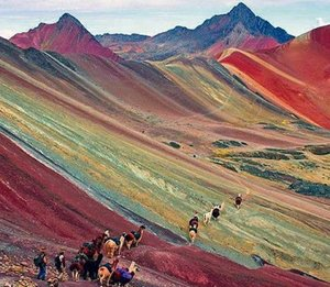 Rainbow Mountains