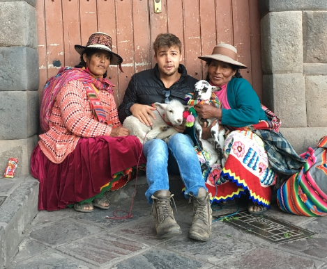 Diego (from Bolivia), is the Co-Founder of WiFi Tribe,and the person that makes sure we are set up right in each country (his Spanish skills also help us navigate better).