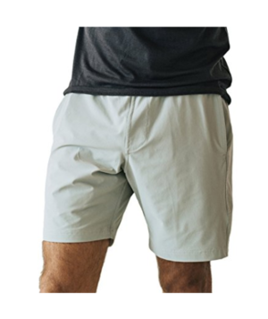 Myles Apparel Shorts  - They're water resistant and stretch easy. A mix between gym wear and fancy shorts that last forever.