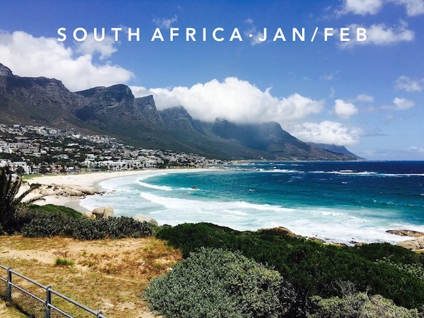 Jan 19 - Mar 2 | Cape Town, South Africa