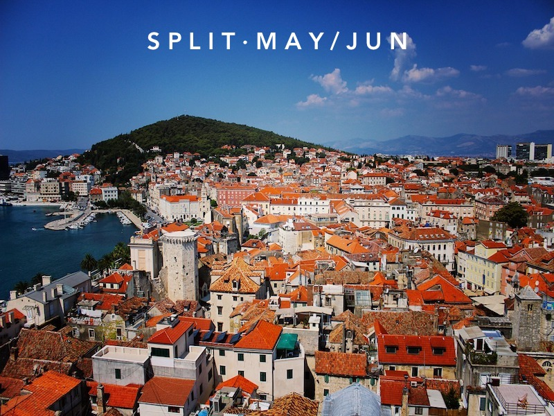 May 18 - Jun 15 | Split, Croatia
