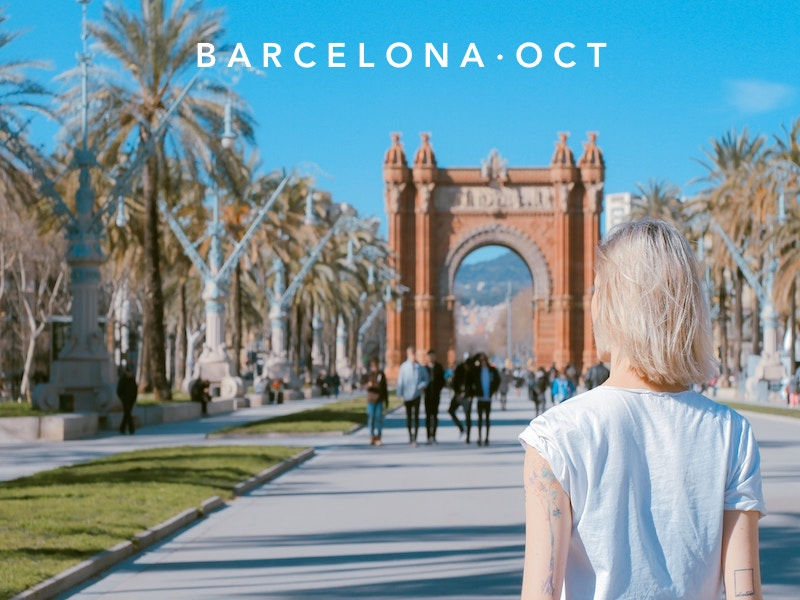 Oct 05 - Nov 02  | Barcelona, Spain