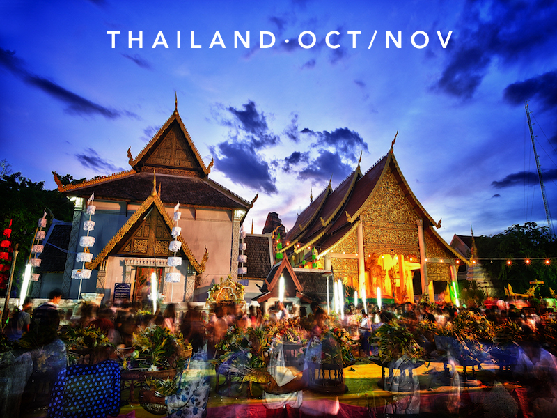 Oct 19 - Nov 16 | Chiang Mai, Thailand