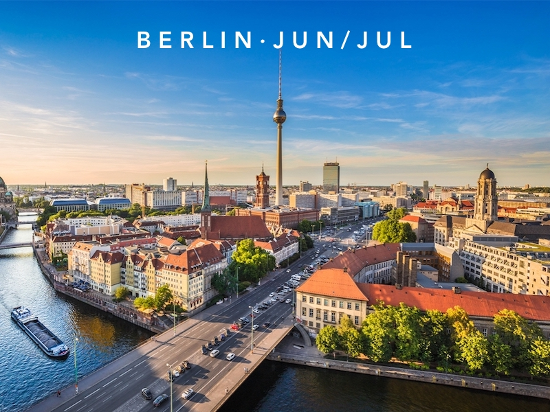 Jun 22 - Jul 20 | Berlin, Germany