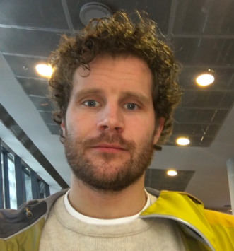 Viktor (from Iceland) is working independently running a peer-to-peer car rental and a storage facility in Iceland. He loves ski touring, fly fishing and a good massage. He's looking forward to seeing what kind of people he'll be living with getting to know them, see what they are working on and how their life is.