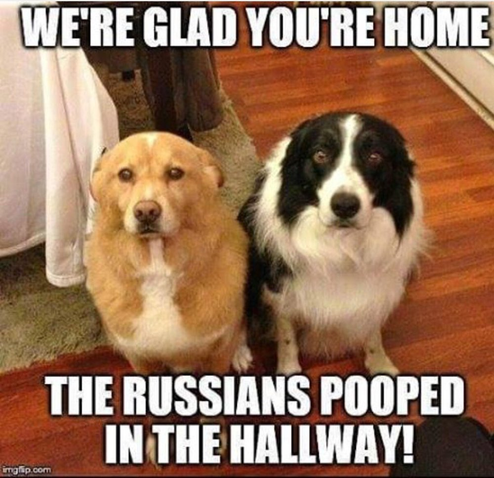 It was the Russians...