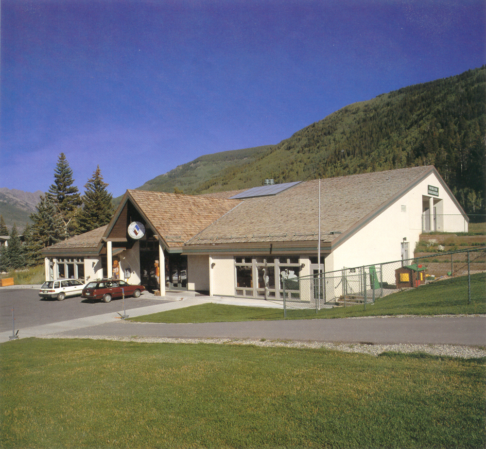 Hyder's first project under the new owners, Golden Peak Children's Center for Vail Resorts, 1988