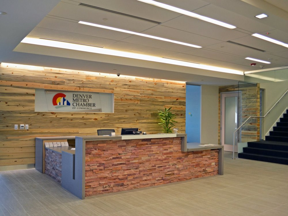 DENVER METRO CHAMBER OF COMMERCE TENANT IMPROVEMENTS