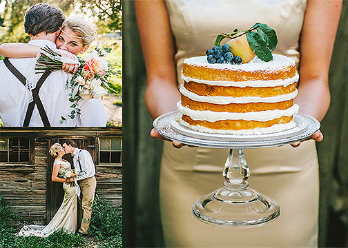Fall + naked cakes are a match made in heaven! They're so rustic and gorgeous and are perfect for adding fresh seasonal fruit and greenery to!