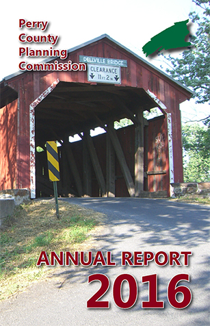 Cover of Perry County Planning Commission's 2016 Annual Report