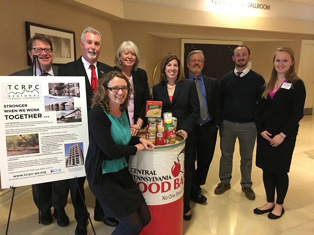 Thanks to everyone who made donations to the food drive at our 2017 luncheon on May 4, we collected over 200 pounds of non-perishables for the Central PA Food Bank -- enough for 125 meals for local families in need. We appreciate your generosity! For more pictures and highlights from the event, go here.