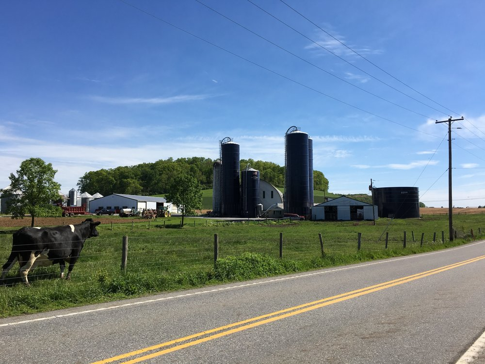 Farm outside Bloomfield, Perry County