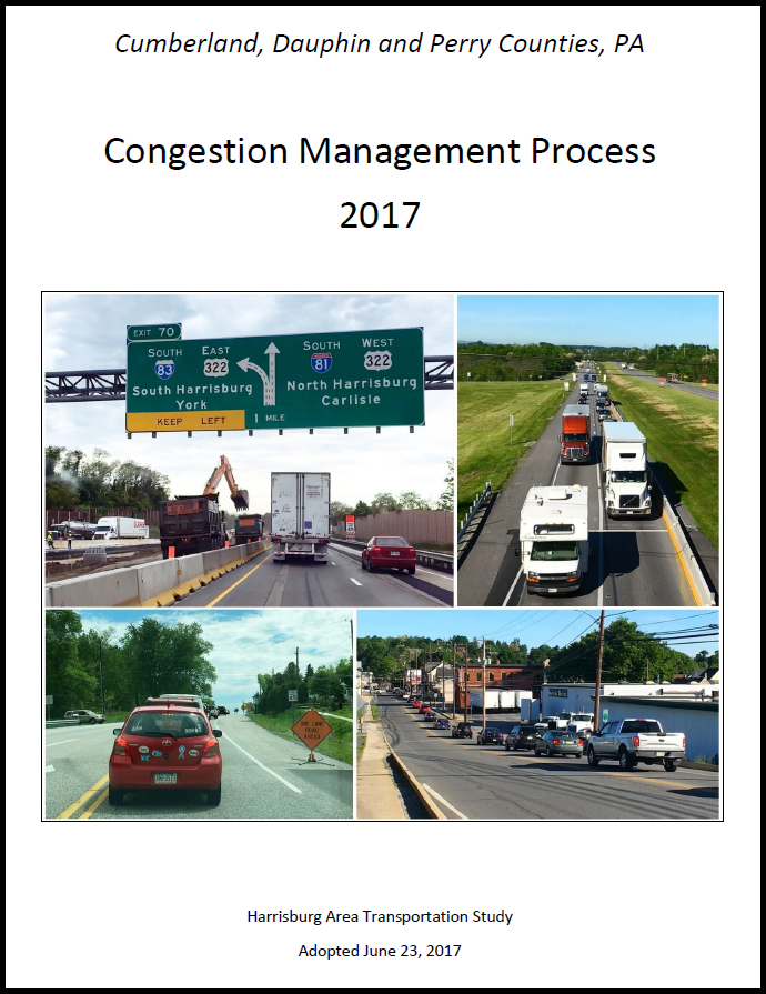 2017 Congestion Management Process Plan cover