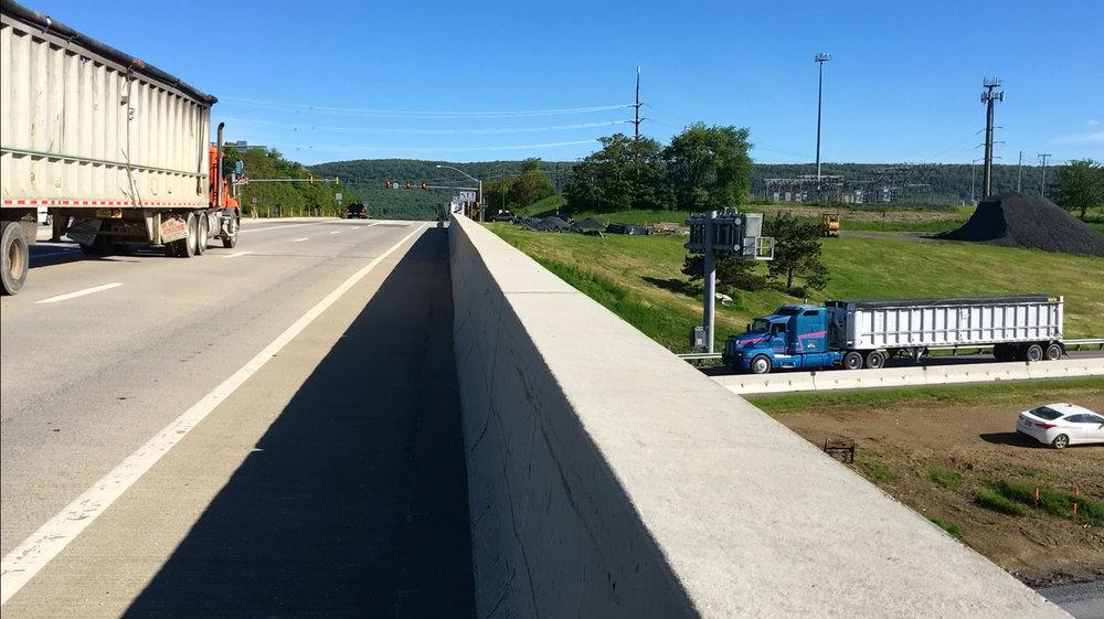 I-81 & Rte. 114 overpass, Cumberland County