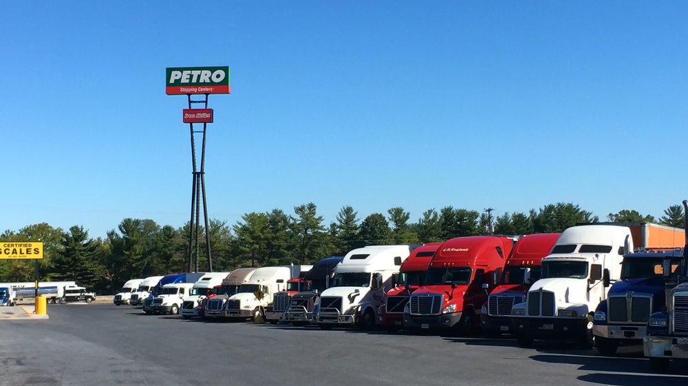 Carlisle area truck stop