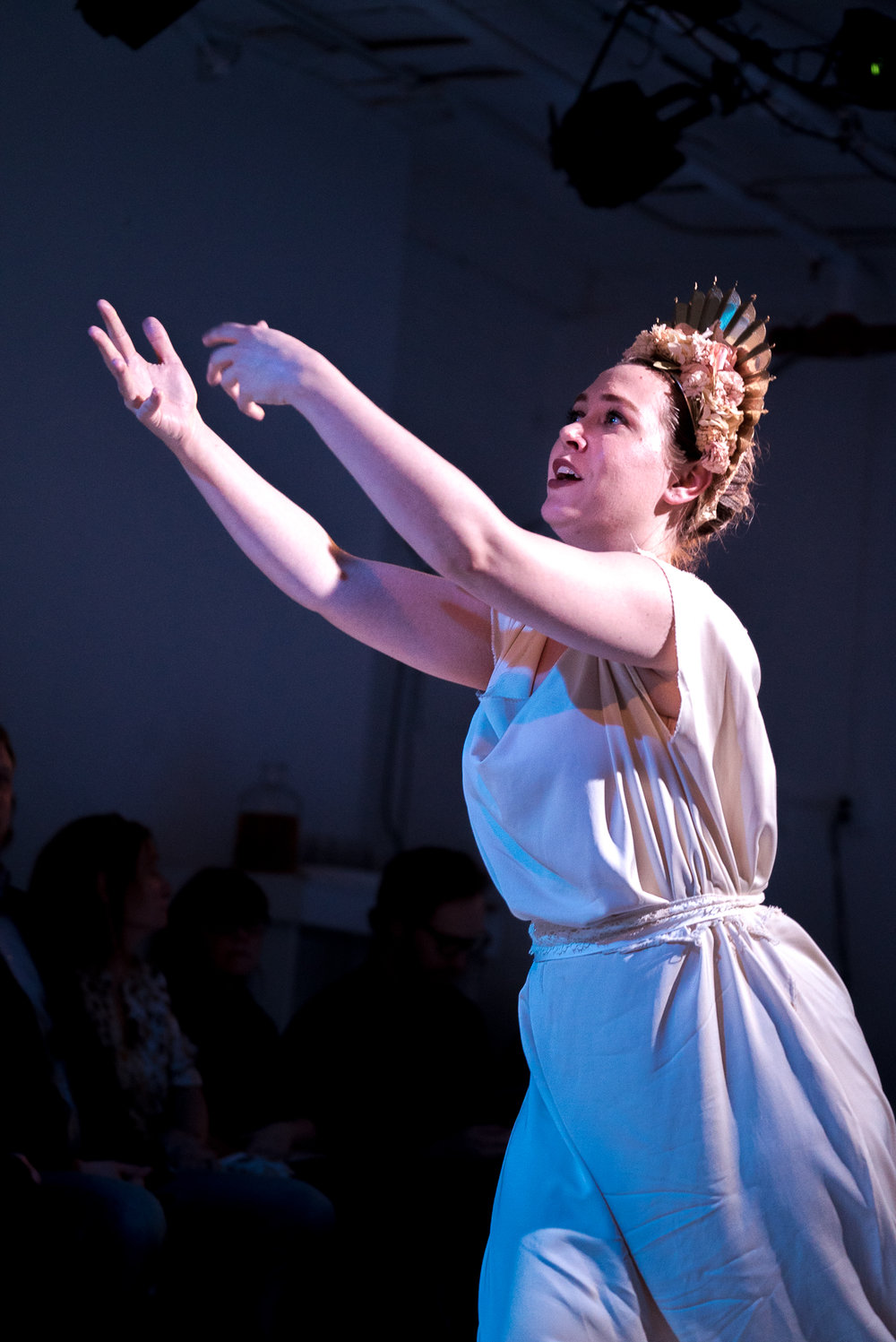 As Proserpina in  Euridice  The Cantanti Project, February 2018 Conducted by Dylan Sauerwald Directed by Brittany Goodwin Costumes by Alexandria Hoffman Orchestra: Dorian Baroque Photo credit: Lucas Godlewski